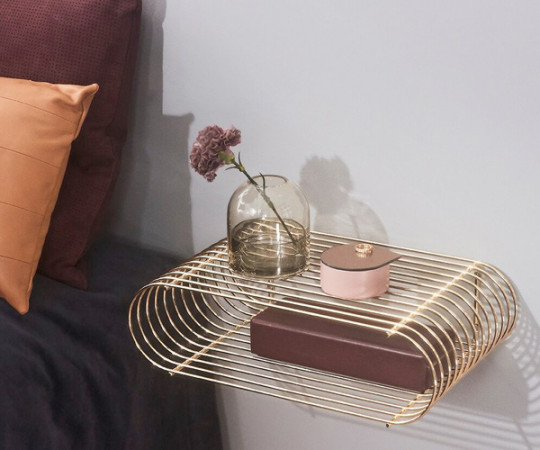 AYTM Curva Shelf - Gold