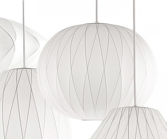 Herman Miller Ball Crisscross Bubble Lampe - Medium