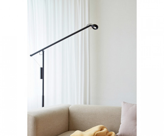HAY Fifty-Fifty Floor Lamp - Sort
