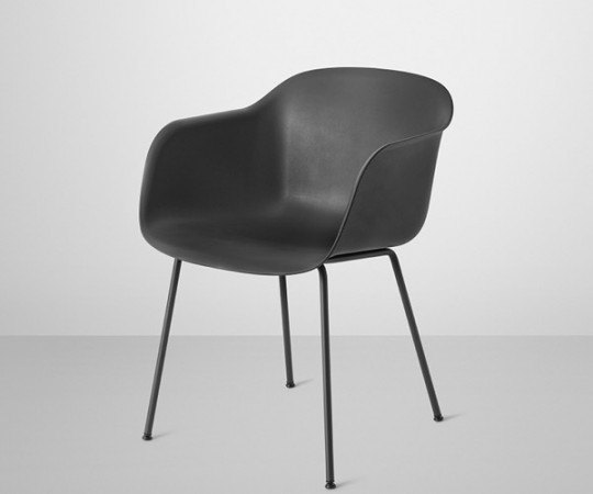 Muuto Fiber Chair - Tube - Arm