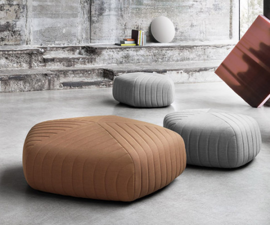 Muuto Five Pouf - Large - Remix 123