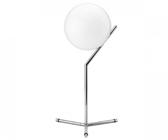 Flos IC Light T1 - Høj Bordlampe - Krom