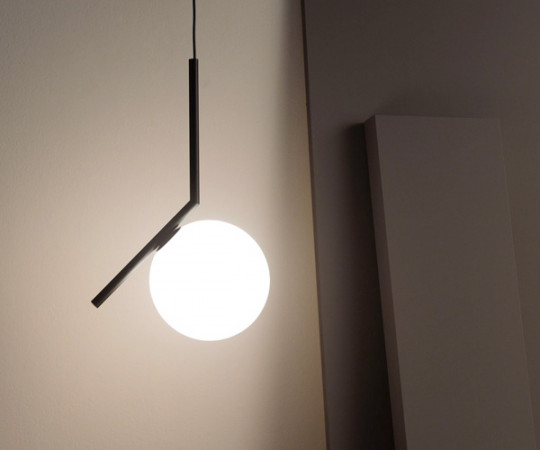 Flos IC Light S1 Pendel Lampe - Sort