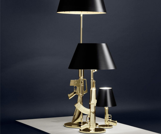 Flos Guns Table Gun - Guld