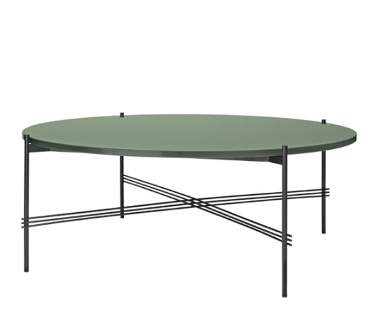 Gubi TS Coffee Table - XL Dia.105cm. - Glas