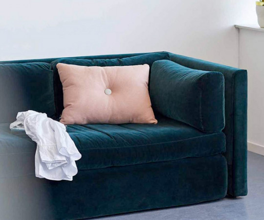 HAY Hackney 2 Seater sofa - Harald Velour