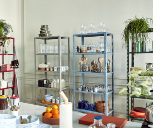 HAY Shelving Unit - dusty blue
