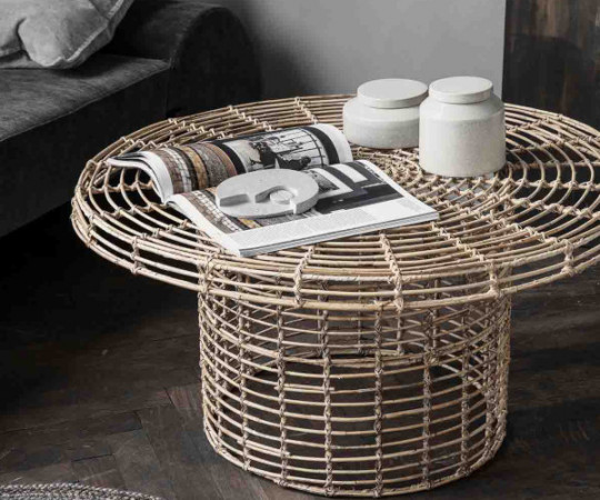 House Doctor Nature Rattan sofabord