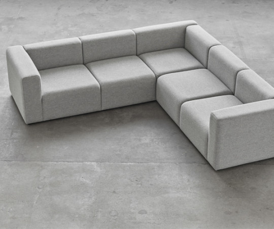 HAY Mags Sofa - Corner Combination 1 - Hallingdal