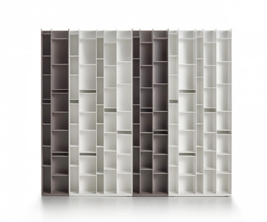 Mdf Italia Random 2C Reol - Medium Grey