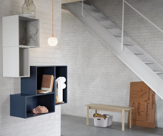 Muuto Mini Stacked 2.0 - Small - Midnight Blue