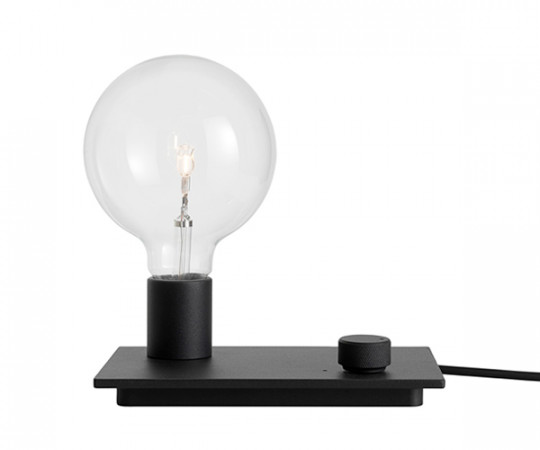 Muuto Control Bordlampe - Sort