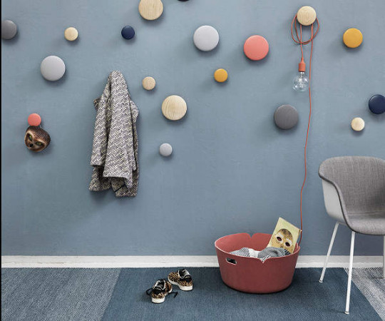 Muuto The Dots - Midnight Blue - Stor