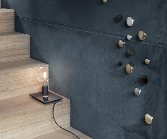 Muuto The Dots Metal - Sæt á 5 stk - Brass