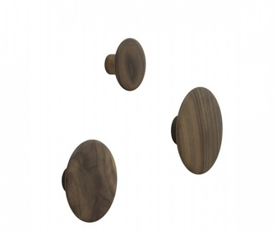 Muuto The Dots - Walnut - Stor