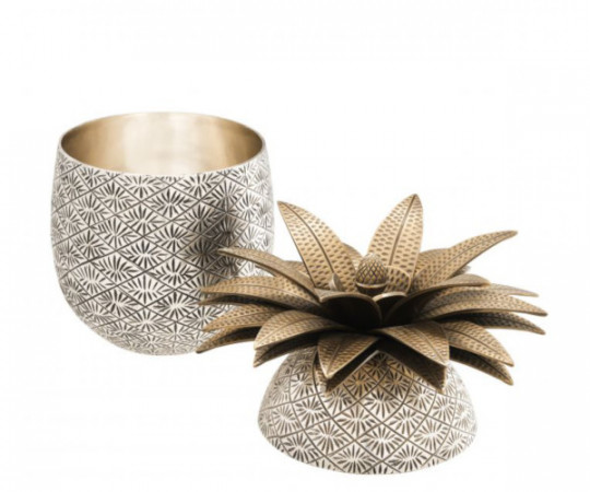 Eichholtz Pineapple Box - Silver