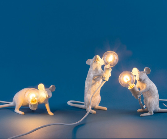 Seletti Mouse Lamp - Standing Table