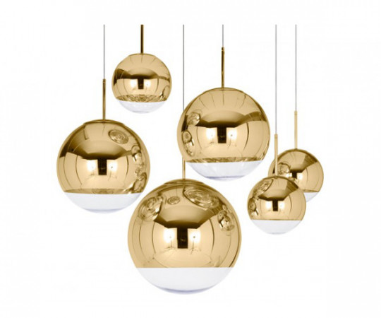 Tom Dixon Mirror Ball Gold 50cm