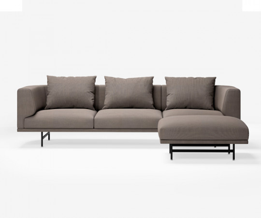 Vipp 632 Chimney sofa - 3 Personers - Steelcut Trio 253