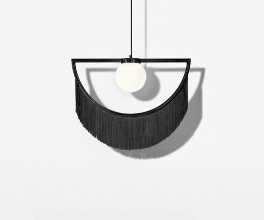 Houtique Wink Lampe - Black
