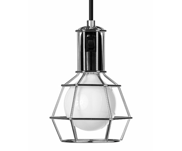 Design House Stockholm Work Lamp - Crome
