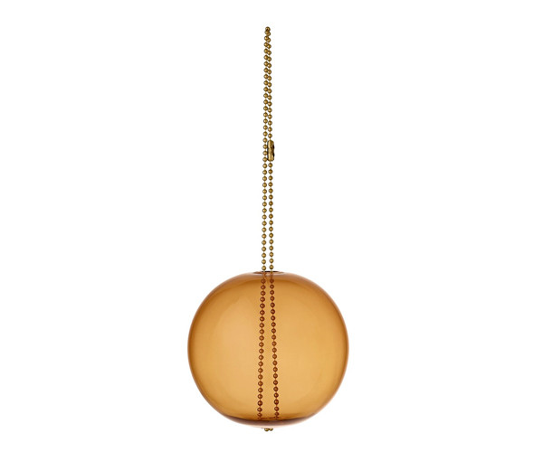 AYTM Monili Jule Ornament - Amber / Messing