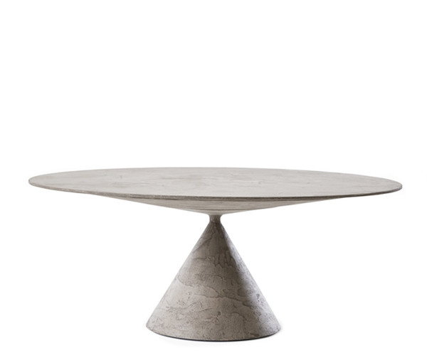 Desalto Clay Bord - Stone Finish - Ø160cm.