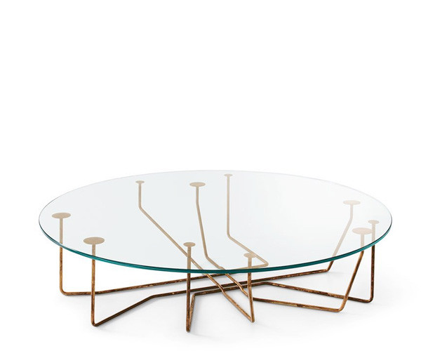 Gallotti & Radice Connection Sofabord - Ø100 cm.