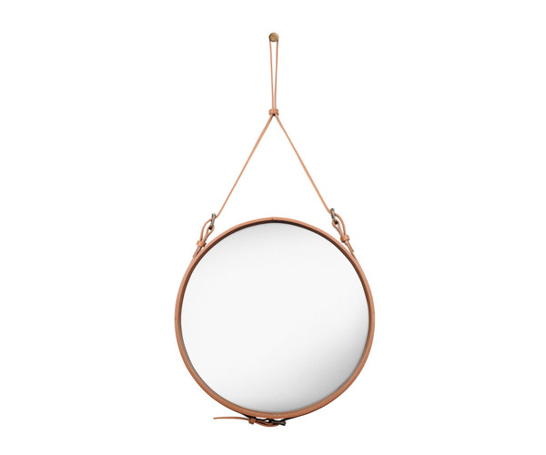 Gubi Adnet Circulaire Mirror Tan - Ø58cm. - Medium