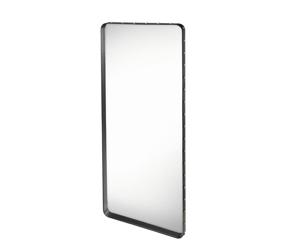 Gubi Adnet Rectangular Mirror Black - Large