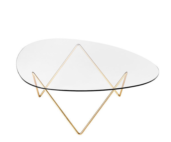 Gubi Pedrera Table messing