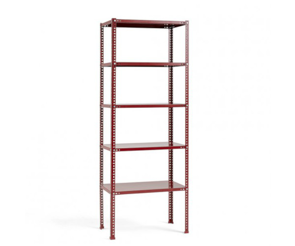 hay shelving unit burgundy