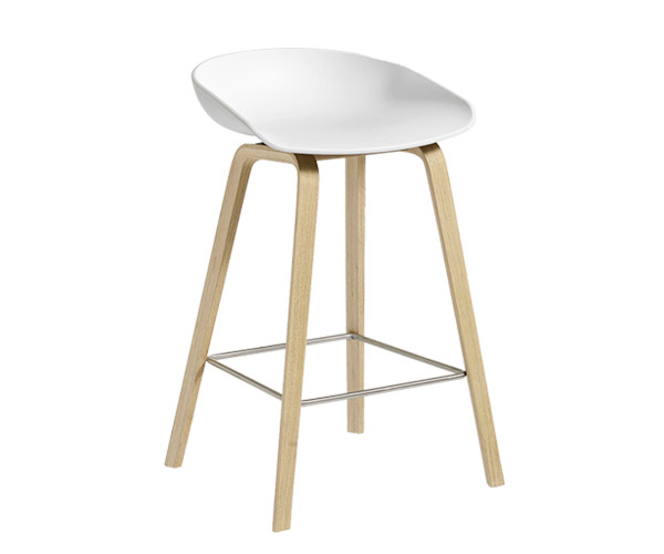 HAY About a Stool (AAS 32) Hvid H:64cm