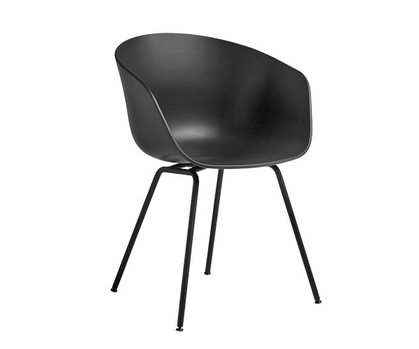 HAY About A Chair AAC26 soft black spisestol