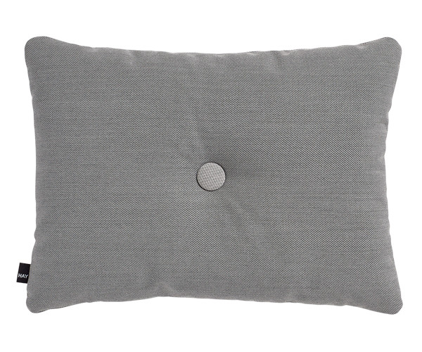 HAY Dot Cushion - Steelcut Trio - Dark Grey - Dark Grey