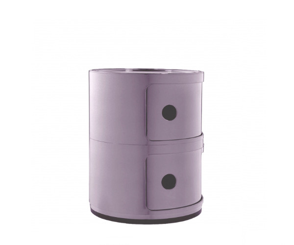 Kartell Componibili violet 2 rum nyhed