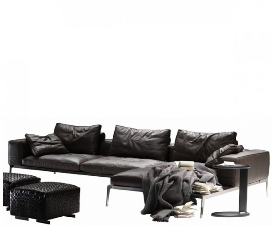 Flexform Lifesteel - Chaiseloungesofa