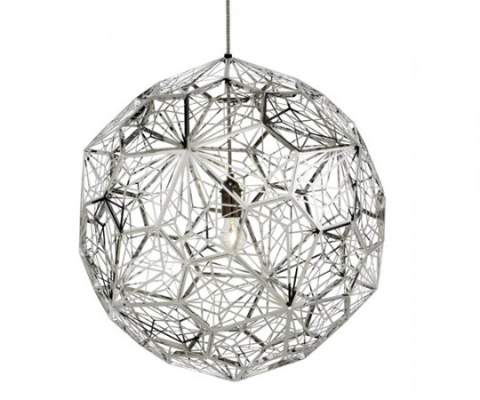 Tom Dixon Etch Light Web Stainless Steel
