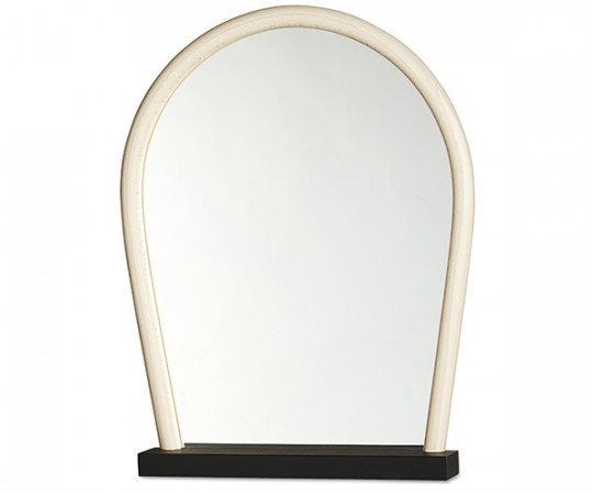 WRONG FOR HAY - Bent Wood Mirror