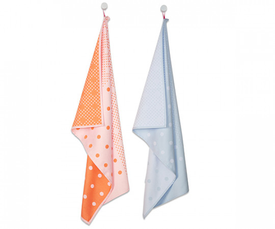 HAY - Tea Towels - Big Dots - Viskestykker - 2 stk