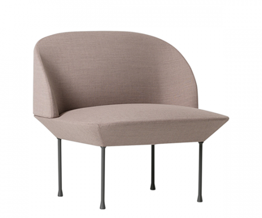 Muuto Oslo Lounge Chair - Fiord 551