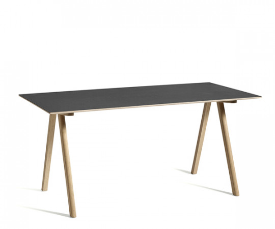 HAY CPH10 Desk - Sort Linolium
