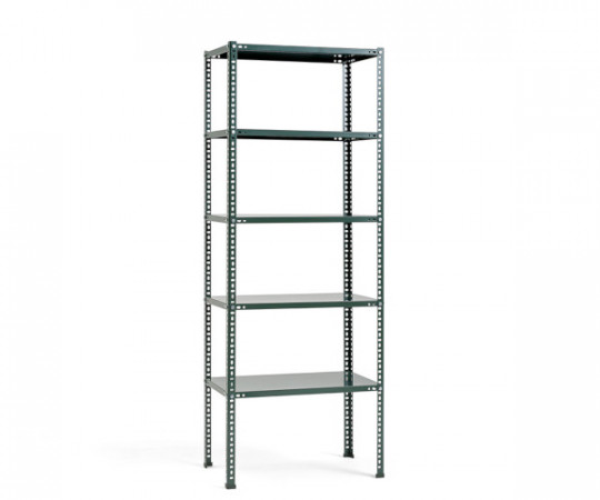 hay shelving unit dark green