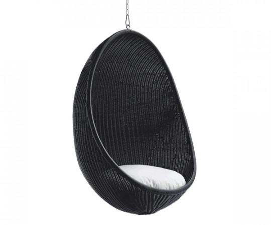 Sika Design Hanging Egg Chair - Indendørs - Sort