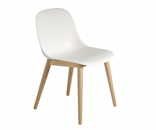 Muuto Fiber Side Chair - Wood