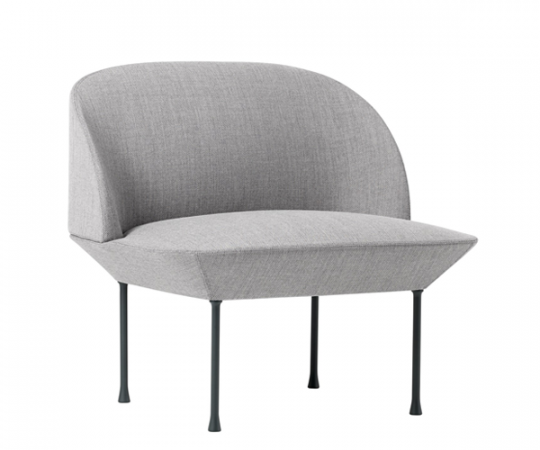 Muuto Oslo Lounge Chair - Fiord 151