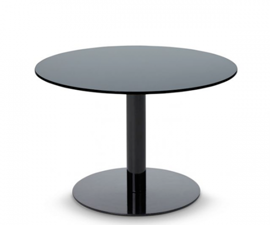 Tom Dixon Flash Table - Circle - Black