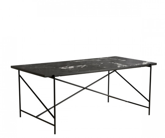 Handvark - Dining Table 185 - Black