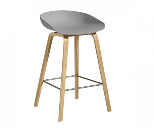 HAY About A Stool AAS 32 concrete grey