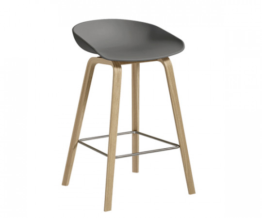 HAY About A Stool AAS 32 grey